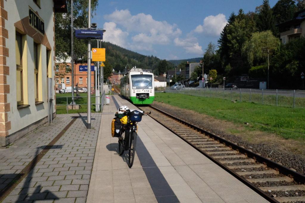 Grünes Band Hauptbahnhof Steinach