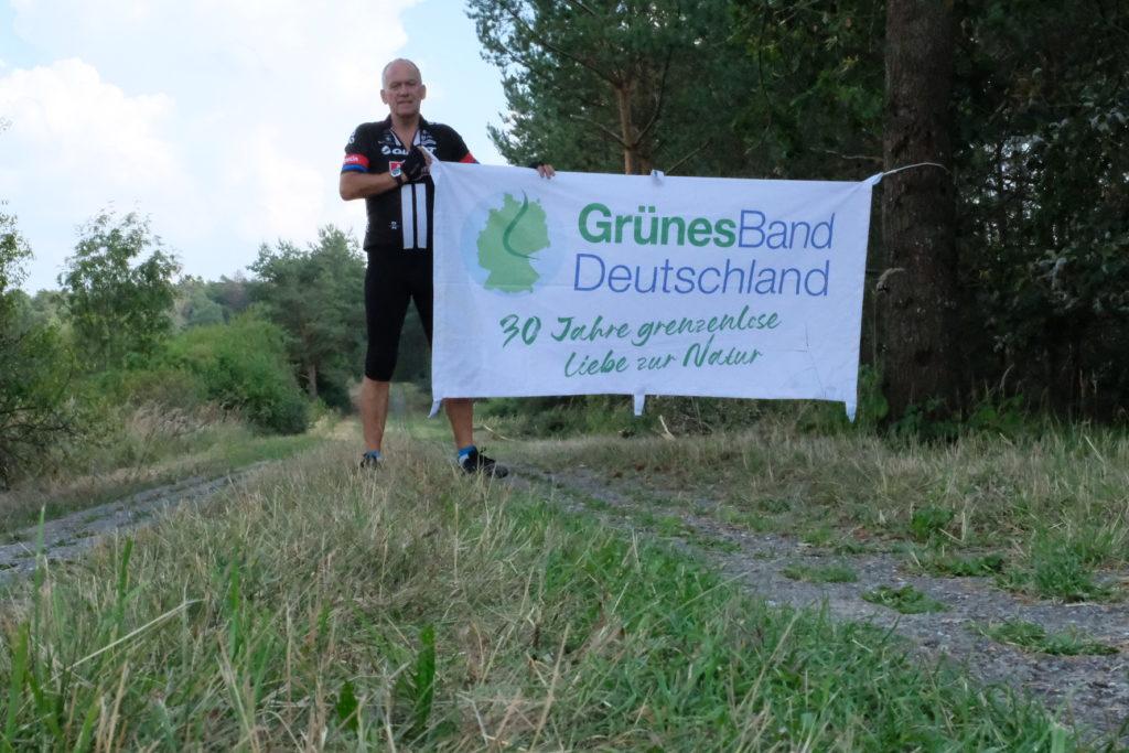 Grünes Band - Plattenweg