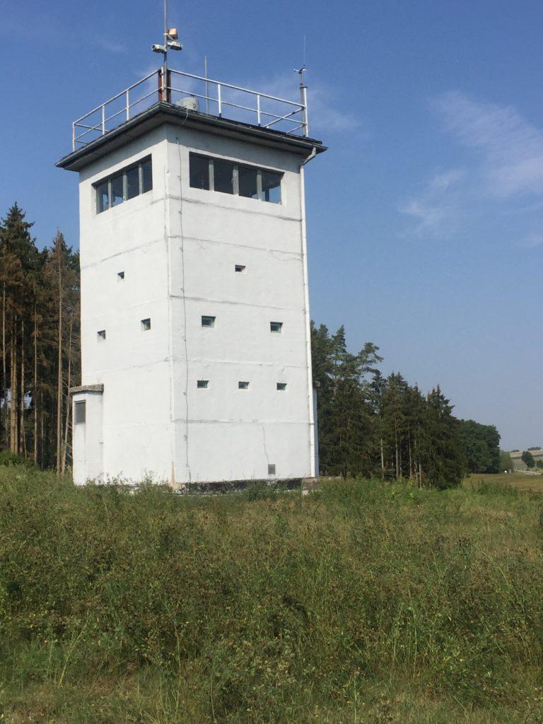 Grünes Band Grenzturm