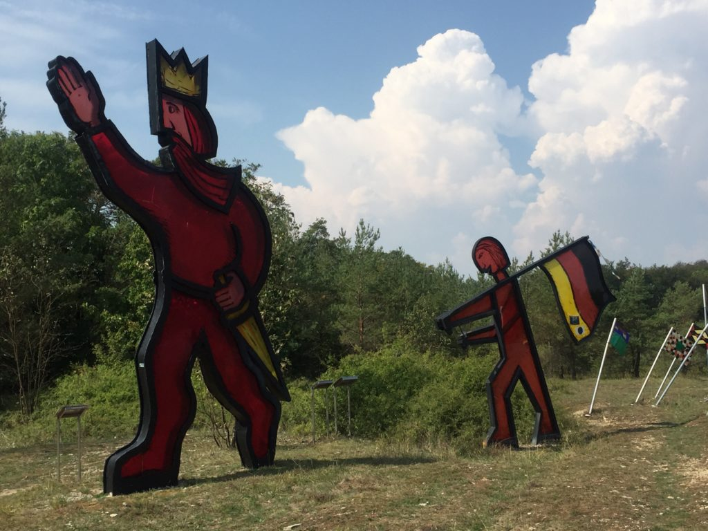 Grünes Band skulpturenpark Radtour