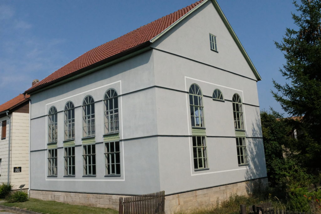 Grünes Band Radtour Berkach Synagoge