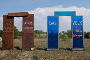 Grünes Band Skulpturenpark Deutsche Einheit
