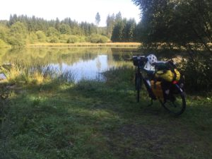 Grünes Band Radtour Schwarzer Teich