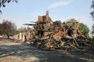 Wildberg abgebrannt - vermutlich Brandstiftung