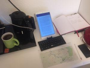 Arbeiten und Bloggen