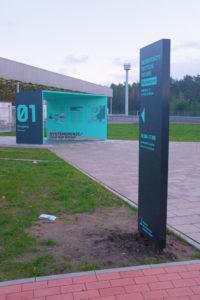 Grenzübergangsstelle marienborn Grünes band