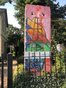 berliner Mauerweg Babelsberg Mauerrest