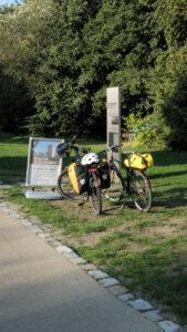 Berliner Mauerweg Infotafel Nieder Neuendorf
