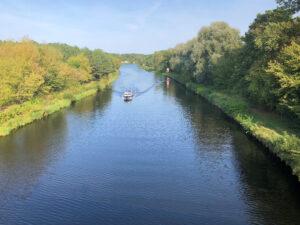 Berliner mauerweg Teltowkanal