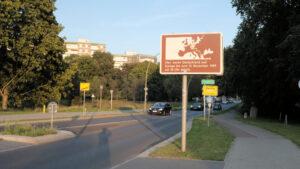 Berliner Mauerweg Falkenseer Chaussee