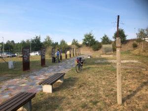 Berliner Mauerweg Radtour 2020 Checkpoint Bravo