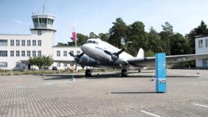 Flugplatz Gatow Rosinenbomber DC-47 Skytrain