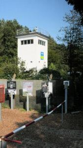 Berliner Mauerweg Grenzturm Frohnau