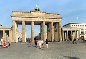 Berliner Mauerweg Brandenburger Tor
