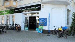 Berliner Mauerweg Fahrradladen Lichtenrade