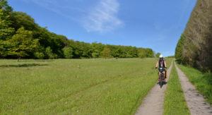 Grünes Band Gobert Radtour